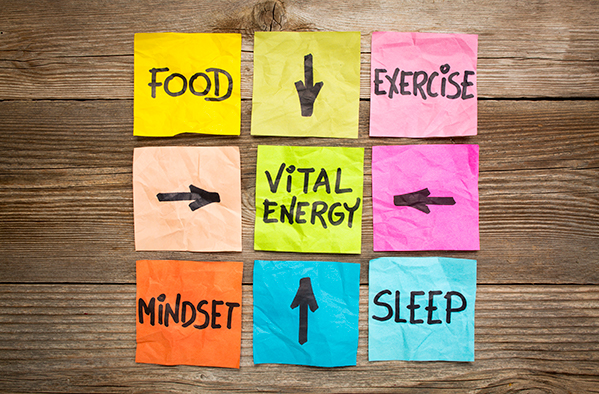 Wellbeing and vital energy