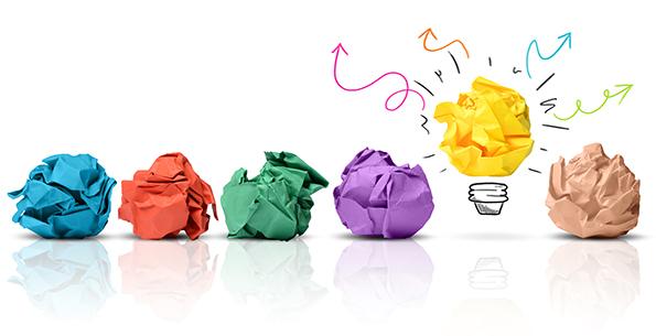 Ideas and creativity - three everyday tips for enhacning creativity