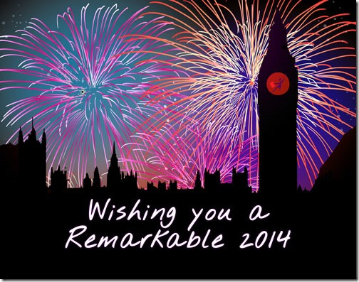 Wishing you a Remarkable 2014